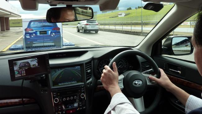 More cars in the future will be able to prevent low-speed rear-end crashes. Photo: Joshua Dowling
