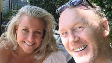 'He will be dearly missed.' Angela Bishop and Peter Baikie. Picture: Supplied