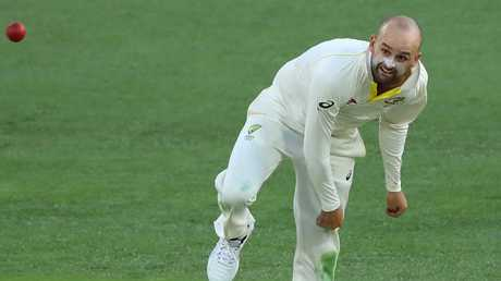 Australian spinner Nathan Lyon is in fine form.
