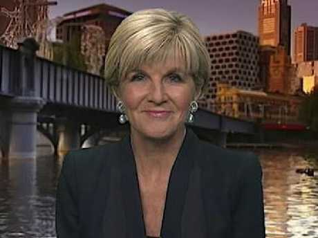 Julie Bishop says she has never leaked sensitive information.