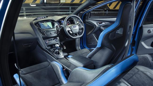 The sports racing seats have changed but they still lack side airbags. Picture: Supplied.