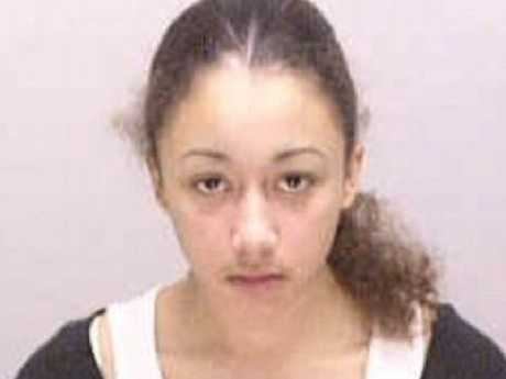 Cyntoia Brown was sentenced to life for killing a man she was forced to have sex with. Picture: Police handout