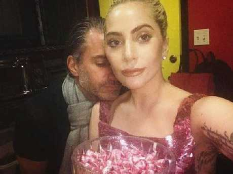 Lady Gaga and Christian Carino reportedly got engaged earlier this year. Picture: Twitter