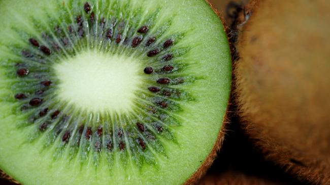 Kiwifruit, or Chinese gooseberry, is the edible berry of several species of woody vines.