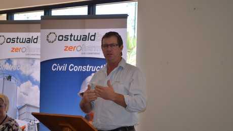 Ostwald Bros CEO Brendan Ostwald.