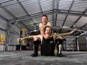 Wrestlers in West Ipswich