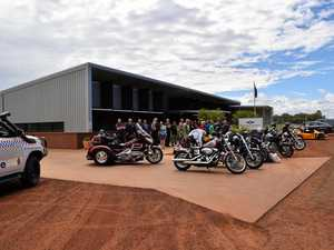 RIDE FOR A CAUSE: The South West Queensland branch of the Ulysses Club organised a toy ride in Charleville at the weekend.