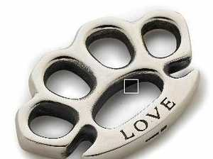 YouTube knuckle duster not legal