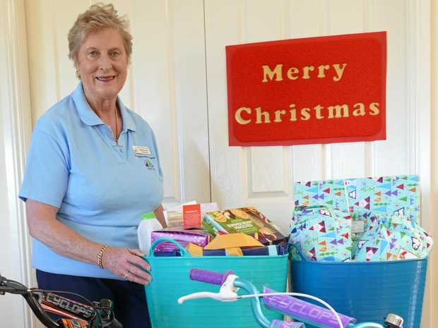 HELPING OUT: Mental Health Support Group co-ordinator Barbara Swain is collecting hampers for the Adopt a Family Appeal.