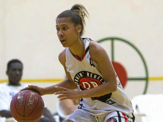 Runnin' Rebels sharp shooter Despena Dickerson is the women's leading point scorer.