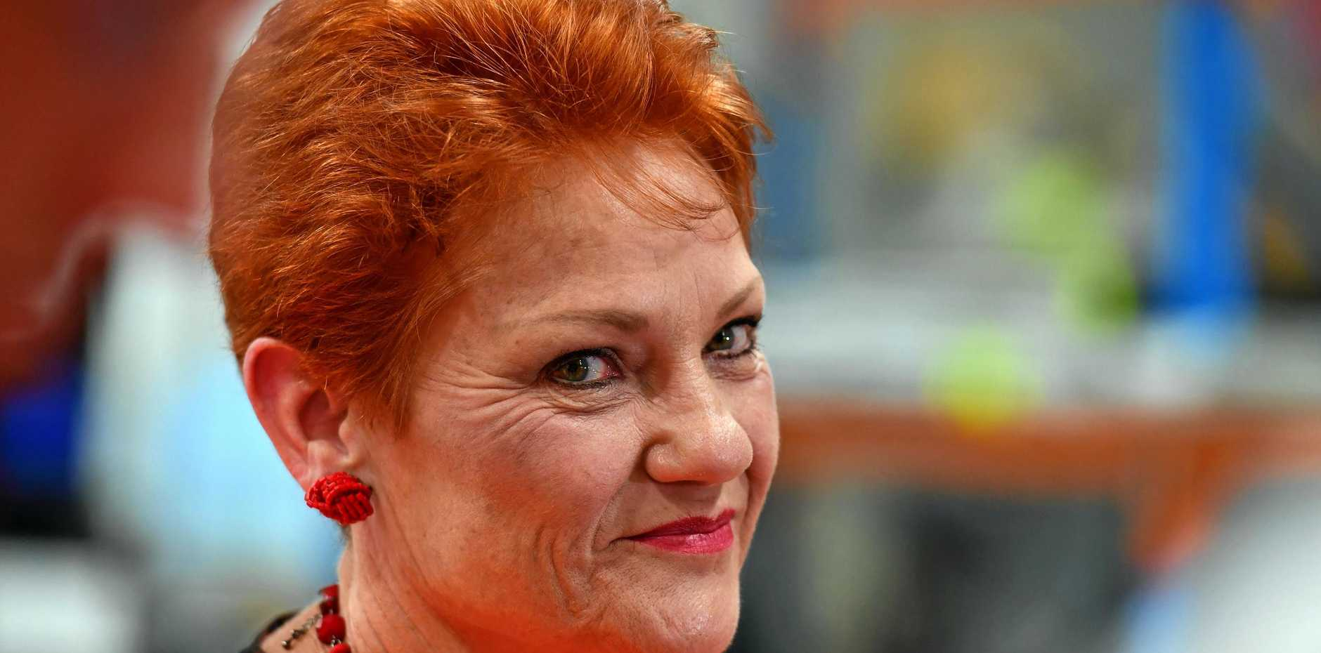 ONE Nation leader Pauline Hanson has been accused of failing to act after an alleged assault by one of Steve Dickson's Mountain Creek polling booth volunteers.