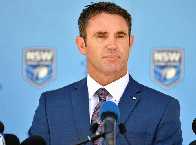 New NSW Blues coach Brad Fittler