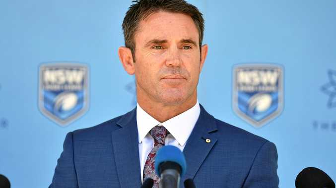 New NSW Blues coach Brad Fittler
