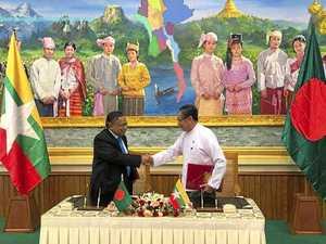 Rohingya allowed a 'safe' return