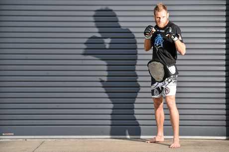 Greg Atzori as Eternal MMA Lightweight Champion.