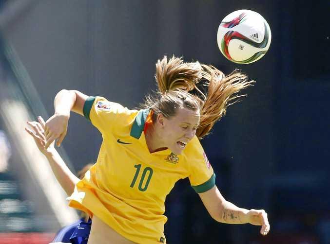 Australia's Emily van Egmond says the Matildas need more wins to become a world power