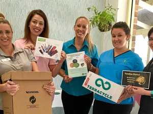 Dental team joins national recycling push