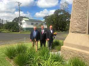 Lismore war memorial returns to its original home
