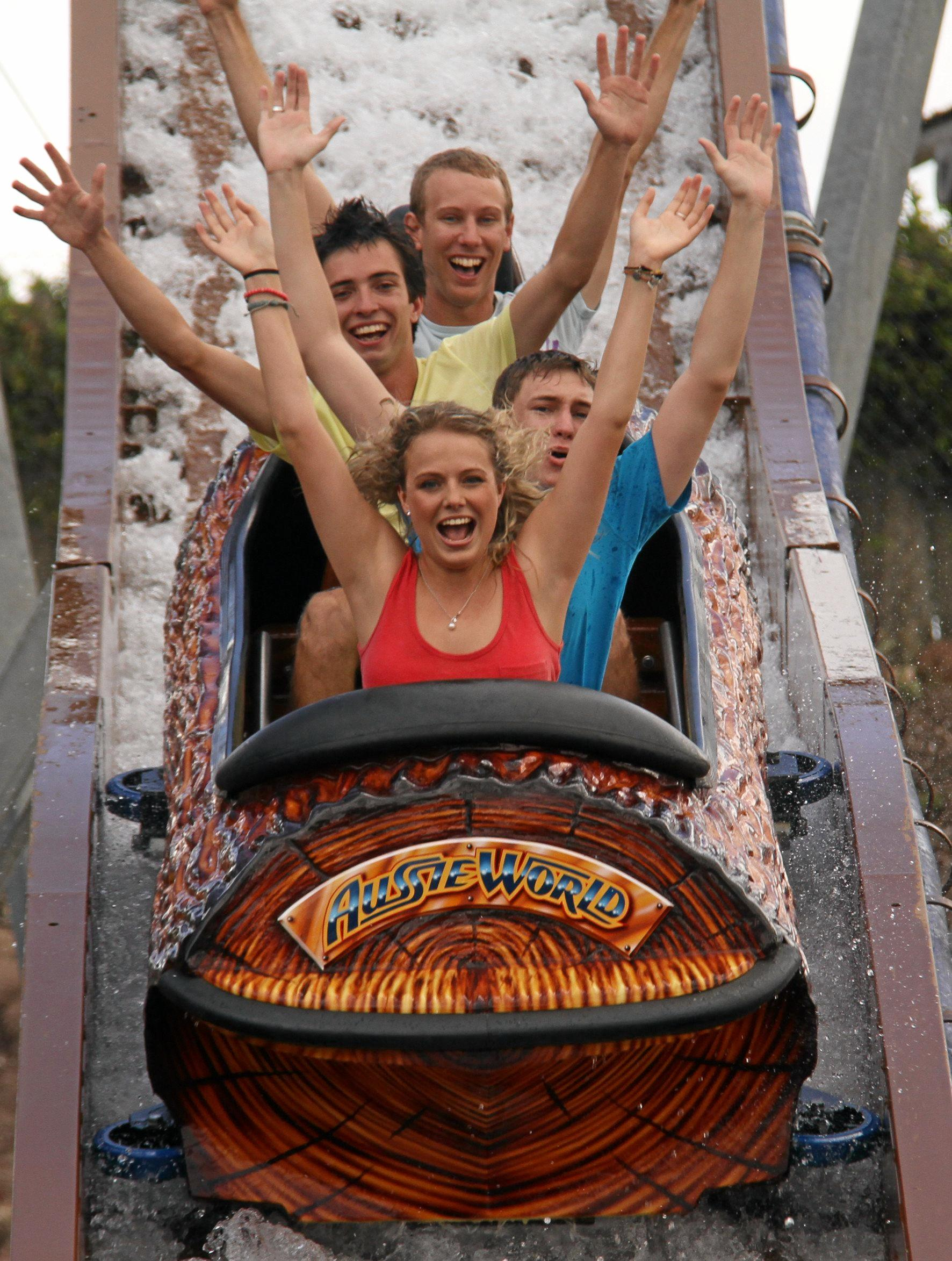 FUN TIMES: Get your family and friends together and enjoy a day together at Aussie World.