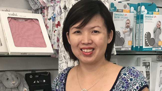 Jessie Goh, founder of Sydney boutique Summer Lane.