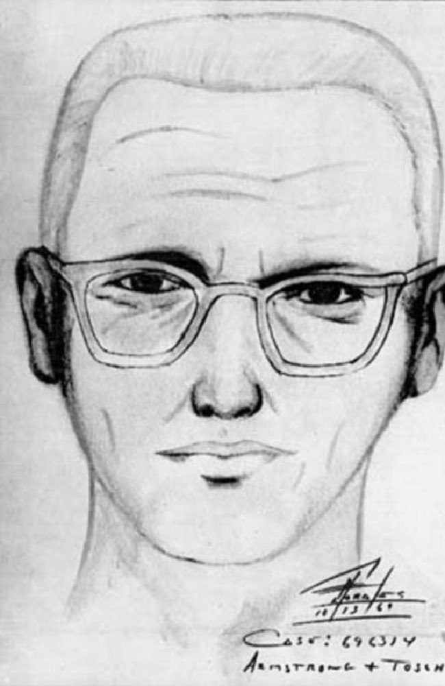 Police sketch of the man suspected of being the