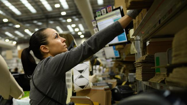 Amazon may have a harder time here than internationally, as we've got trickier logistics to deal with. Picture: Leon Neal/Getty Images