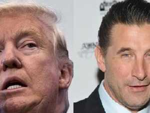 Baldwin: Trump harassed my wife