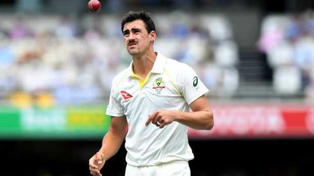 Australia's quicks struggled on day one at the Gabba.