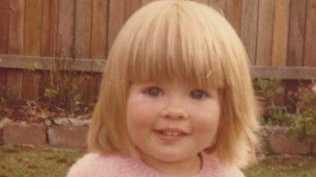Sarah Monahan at 15 months.