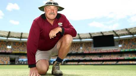 Kevin Mitchell Jr has copped plenty of criticism for the Gabba pitch.