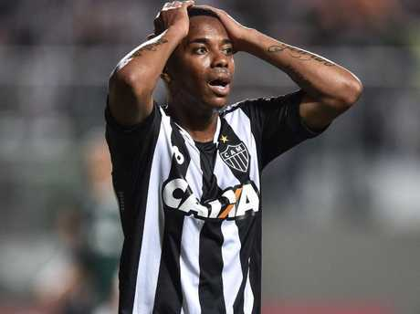 Robinho is now with Atletico MG in the Brasileirao Series A. Picture: Getty