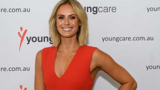 Sylvia Jeffreys at the 2017 Youngcare Long Lunch in Sydney.