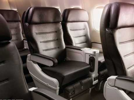 The double armrests in Air New Zealand's premium economy class might settle those elbow tussles once and for all.