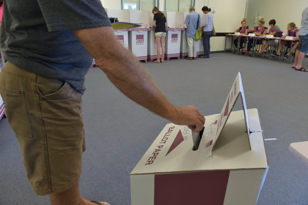 Bundaberg and Burnett residents can vote from today.