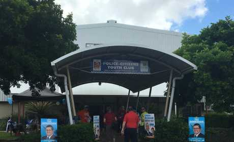 Voting has started at the PCYC in Hervey Bay.