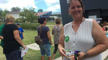 Greens candidate for Hervey Bay Jenni Cameron.