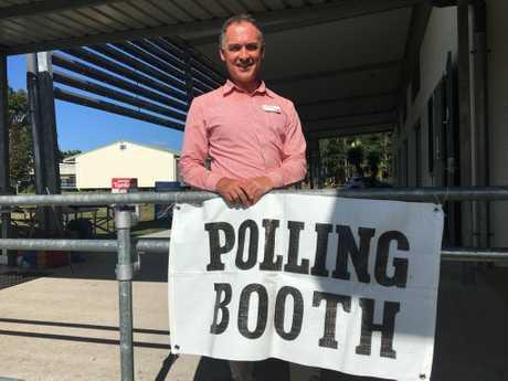 Labor candidate for Hervey Bay Adrian Tantari.