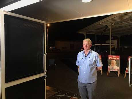 Jim Pearce, on election night.