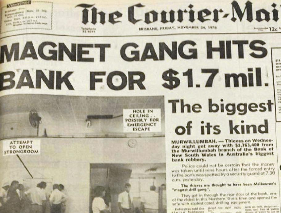 M'bah bank $1 7m raid mystery lives on   Northern Star