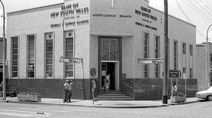 An exterior shot of the Murwillumbah bank. Bruce Devine/Daily News