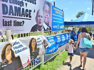 Seeing blue, police and placards at Whitsunday electorate