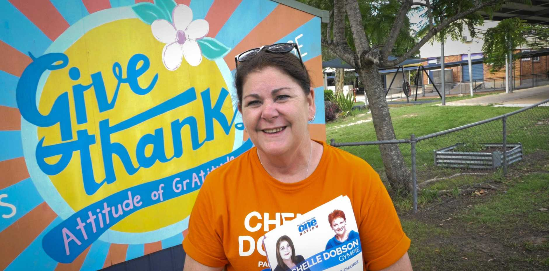 Gympie One Nation Candidate Chelle Dobson.