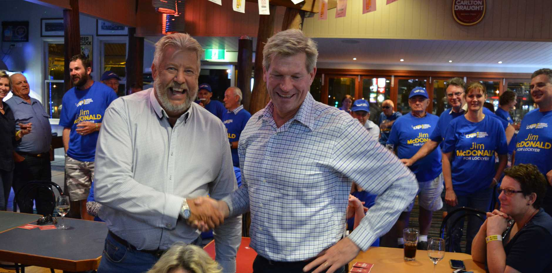 Voters have had their say - and now we wait to see who will represent the Lockyer.