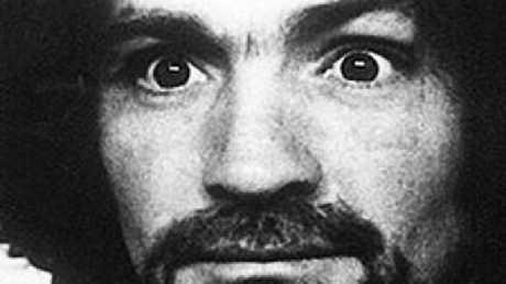 Charles Manson's mugshot. Picture: Supplied