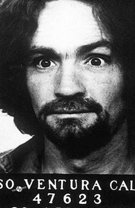Charles Manson's mugshot. Picture: Supplied