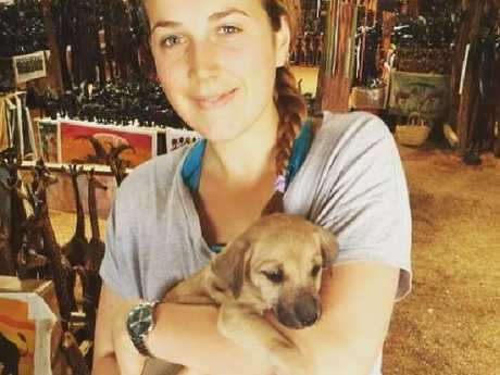 Australian Hannah Ritchie was in Oxford Circus during the incident in London.  Picture:  Facebook