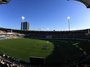 Sun setting on Gabba Tests