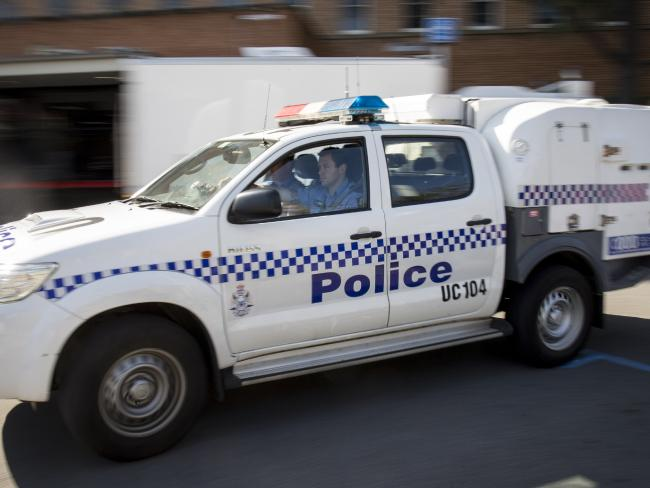 Police stopped the man after the alleged 45 minute crime spree. Picture: Perth Now