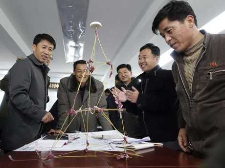 """North Koreans are curious and """"keen to learn"""". Picture: Ian Collins"""