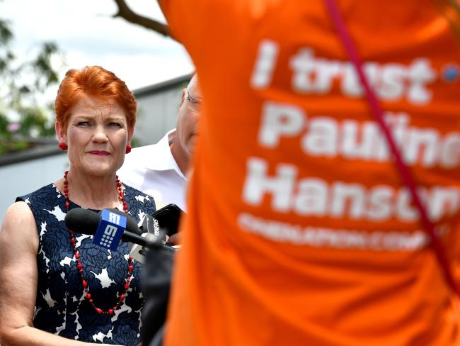 Throughout the campaign Pauline Hanson has frequently said,